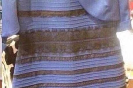 As cores deste vestido confundem internautas e o assunto bomba na web