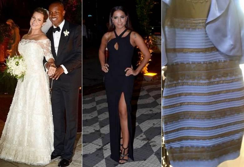 Vestido preto e azul r7