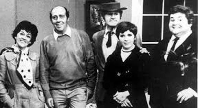 "O elenco da ""Família Trapo"" na TV Record"