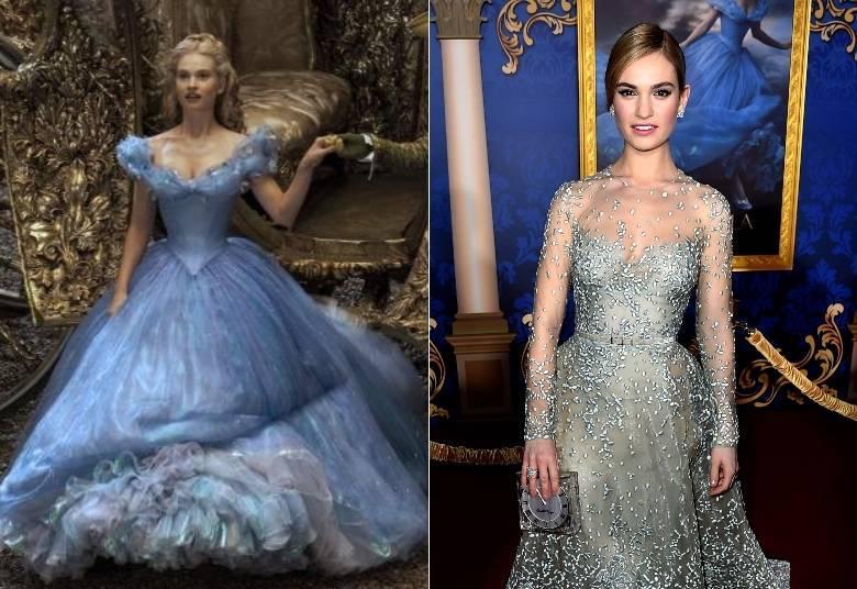 Lily James comenta polêmica em torno de sua cintura no filme Cinderela