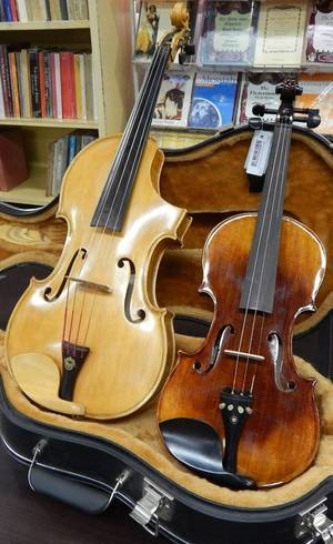 Instrumento é similar ao violino, mas com som mais grave.