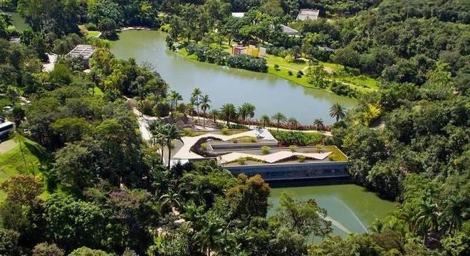 O museu de Inhotim, em Brumadinho