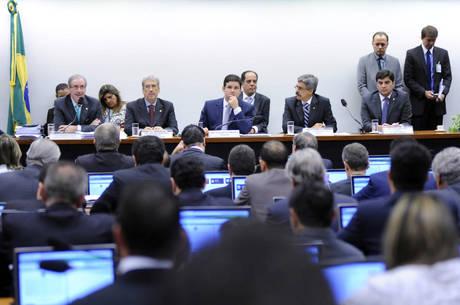 Eduardo Cunha fala à CPI da Petrobras operação Lava Jato