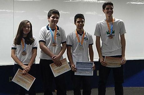 Medalhista do Colégio Lourenço Filho, em Fortaleza, Ceará