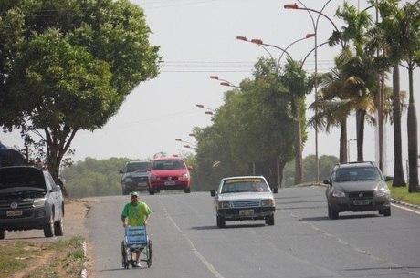 Aos 57 anos, Zé do Pedal está neste projeto desde 10 de fevereiro de 2014