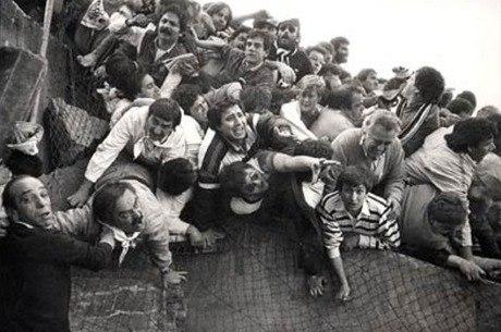 Tragédia de Heysel deixou 39 mortos