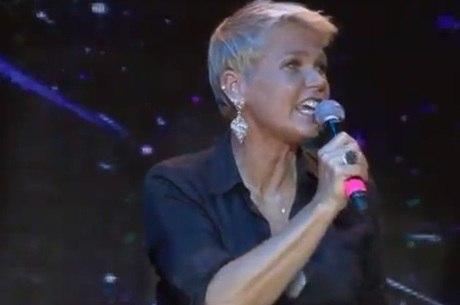 Xuxa na festa de 25 anos da Telefe