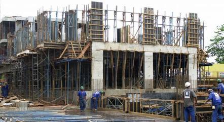 Confiança da construção está em 85 pontos