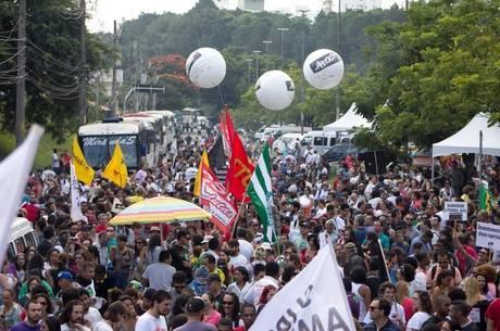 A greve já dura 28 dias e terá a continuidade votada dia 17 de abril