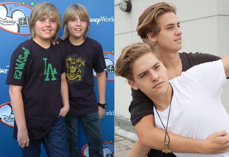 Você se lembra dos gêmeos Zack e Cody, da Disney? Eles cresceram e ...
