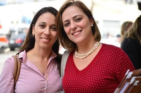Amigas na hora da economia: estratégia das advogadas Cristina e Rita para não gastar tanto no almoço é dividir um prato