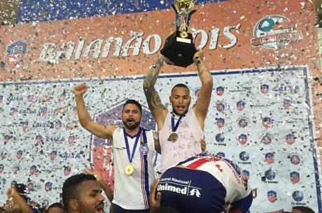 Bahia vence o Vitória da Conquista por 6 a 0 e leva o Campeonato ... 02d0943549b58