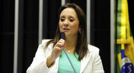 Na imagem, deputada Renata Abreu (Podemos-SP)