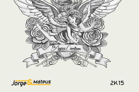 Capa do disco Os Anjos Cantam, oitavo da dupla