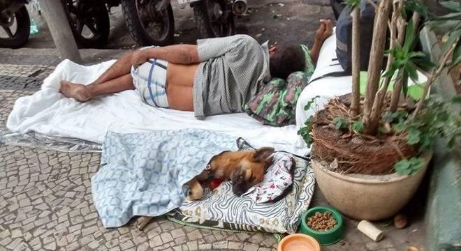 Ração doada será destinada a cachorros de moradores de rua