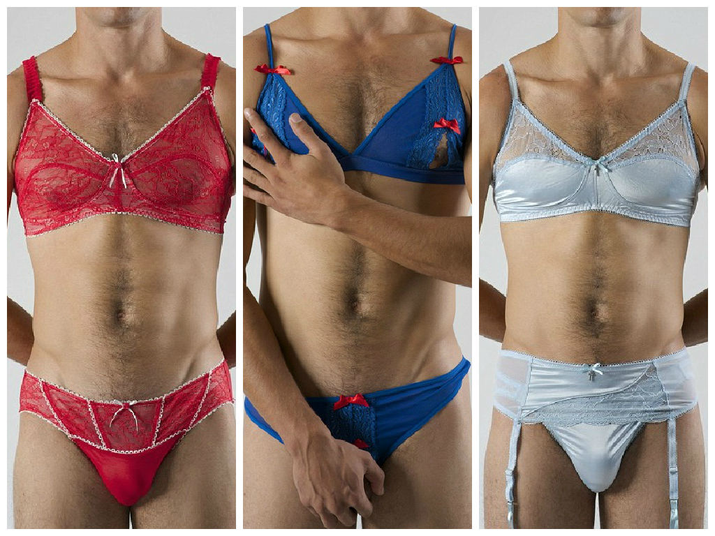 ff59130f3 Vai encarar  Lingerie rendada é a nova tendência entre os homens ...