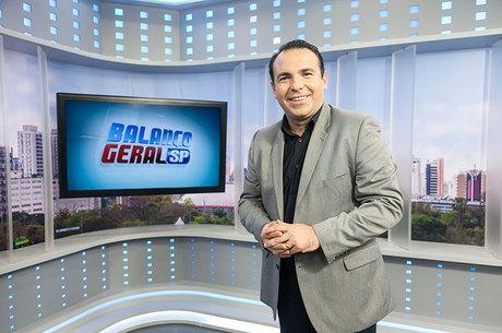 Reinaldo Gottino, o apresentador do Balanço Geral em São Paulo