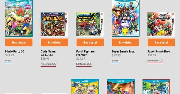 e29db76ba4ff35 Passo a passo! Aprenda a comprar games para seu 3DS na Nintendo ...