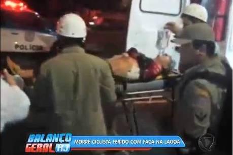 Médico foi assaltado quando pedalava na Lagoa