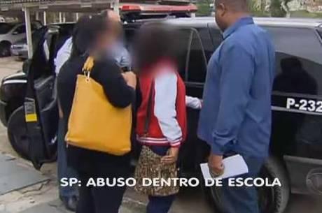Vítima reconheceu os três estudantes que praticaram o abuso