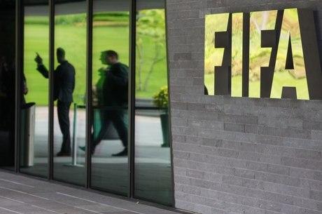 Fachada do prédio da Fifa, em Zurique, na Suíça