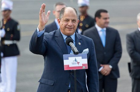 Luis Guilherme Solis, presidente da Costa Rica.