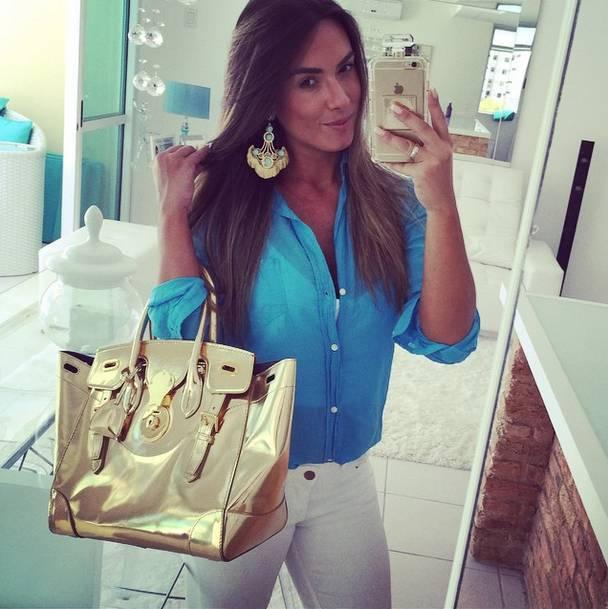 5c67726df3 Ana Furtado e Patrícia Poeta usam bolsas que