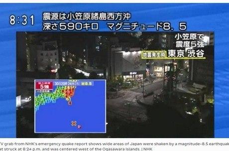 País tem infraestrutura desenhada para suportar tremores