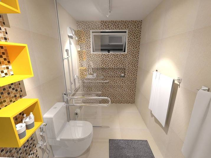 Conhe a os projetos para a reforma do banheiro da nilsen - Reformas leroy merlin ...