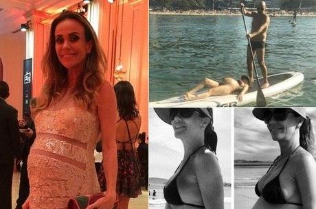 Flávia Monteiro já é mamãe pela primeira vez