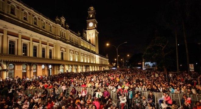 Na foto, edição anterior da Virada Cultural em São Paulo