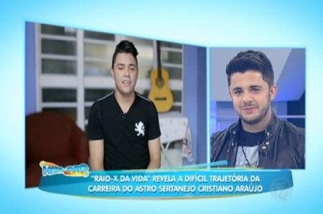 Felipe Araújo participou de homenagem ao irmão em abril