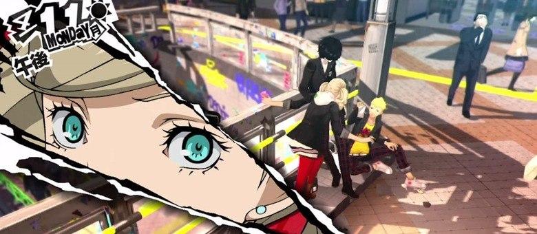 Persona 5 tem a assinatura visual mais impactante da série