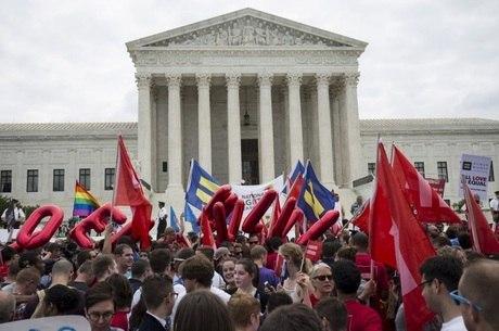 Ativistas comemoraram a decisão da Suprema Corte americana