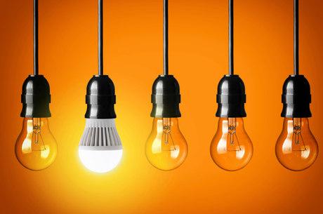 Tempo de vida da lâmpada de LED é 25 vezes maior do que o das incandescentes