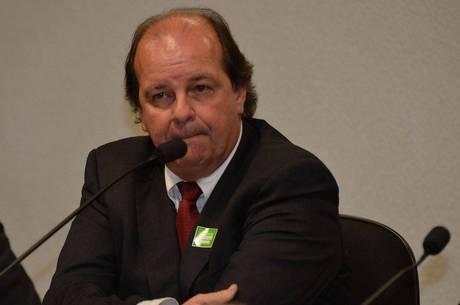 Jorge Zelada, ex-diretor da área internacional da Petrobras, durante depoimento à CPI da estatal em 2014
