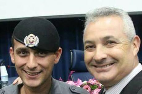 Sargento Nantes  e o deputado estadual Coronel Telhada (PSDB)