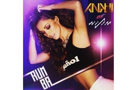 Capa de Rumba, nova música de Anahí com o cantor Wisin