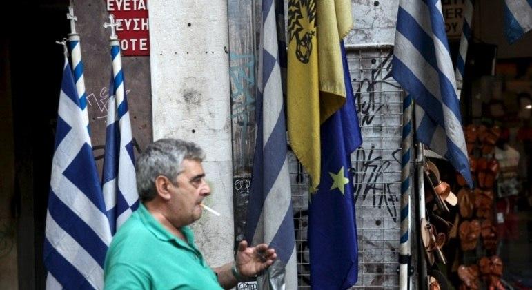 Grécia sofreu uma de suas maiores crises econômicas pouco após os Jogos de Atenas, em 2004