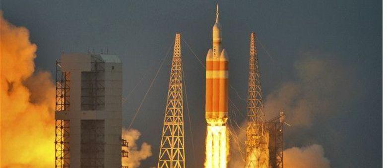 Em 2014 a nave Orion fez um voo não tripulado de cerca de quatro horas para testar sua tecnologia