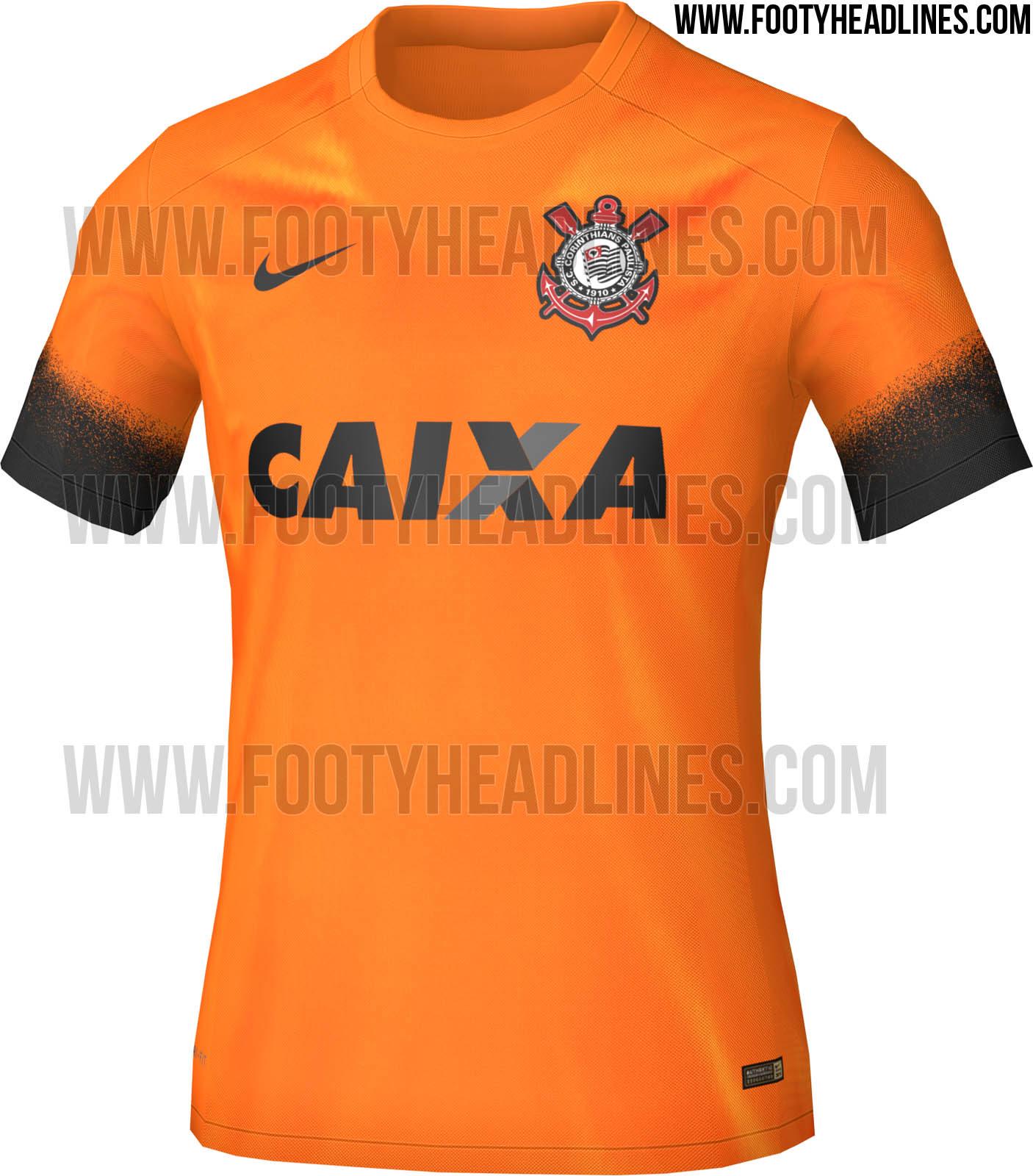 2324adfd26 Loja vaza novo terceiro uniforme laranja do Corinthians - Lance - R7 Futebol