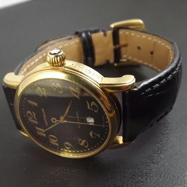 e2fe0060286 ... O primeiro lote de ofertas do leilão é composto por um relógio  Montblanc suíço