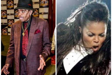 Janet Jackson se irrita com festa do pai, segundo jornal