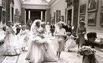 Princesa Diana e Rainha  Elizabeth