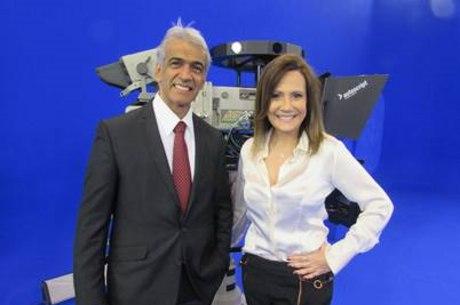 Desembargador federal da 3ª Região, David Dantas, e a apresentadora Débora Dantas
