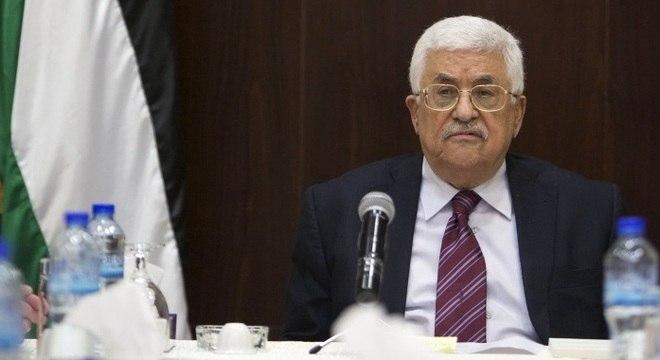 Abbas, presidente da Palestina, acredita que o plano de paz não é justo