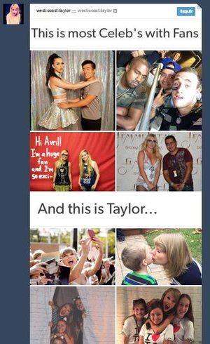 Montagem curtida por Taylor Swift