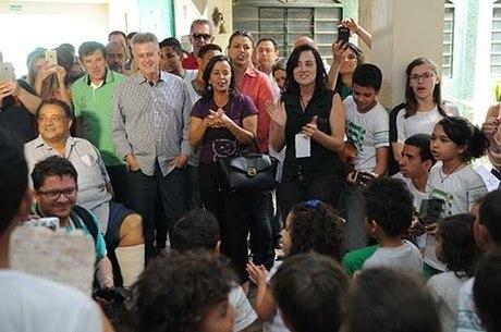 Governador Rodrigo Rollemberg participou a solenidade de renovação do programa