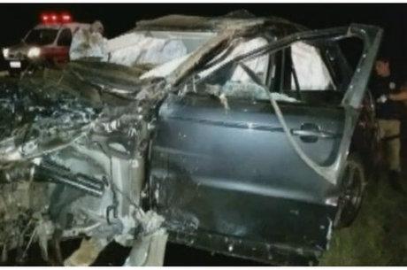 Laudo apontou que motorista dirigia a 179 km/h na BR - 153
