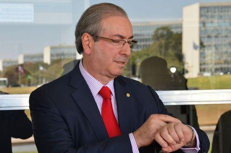 Cunha reagiu com ironia à pressão que vem sofrendo de opositores